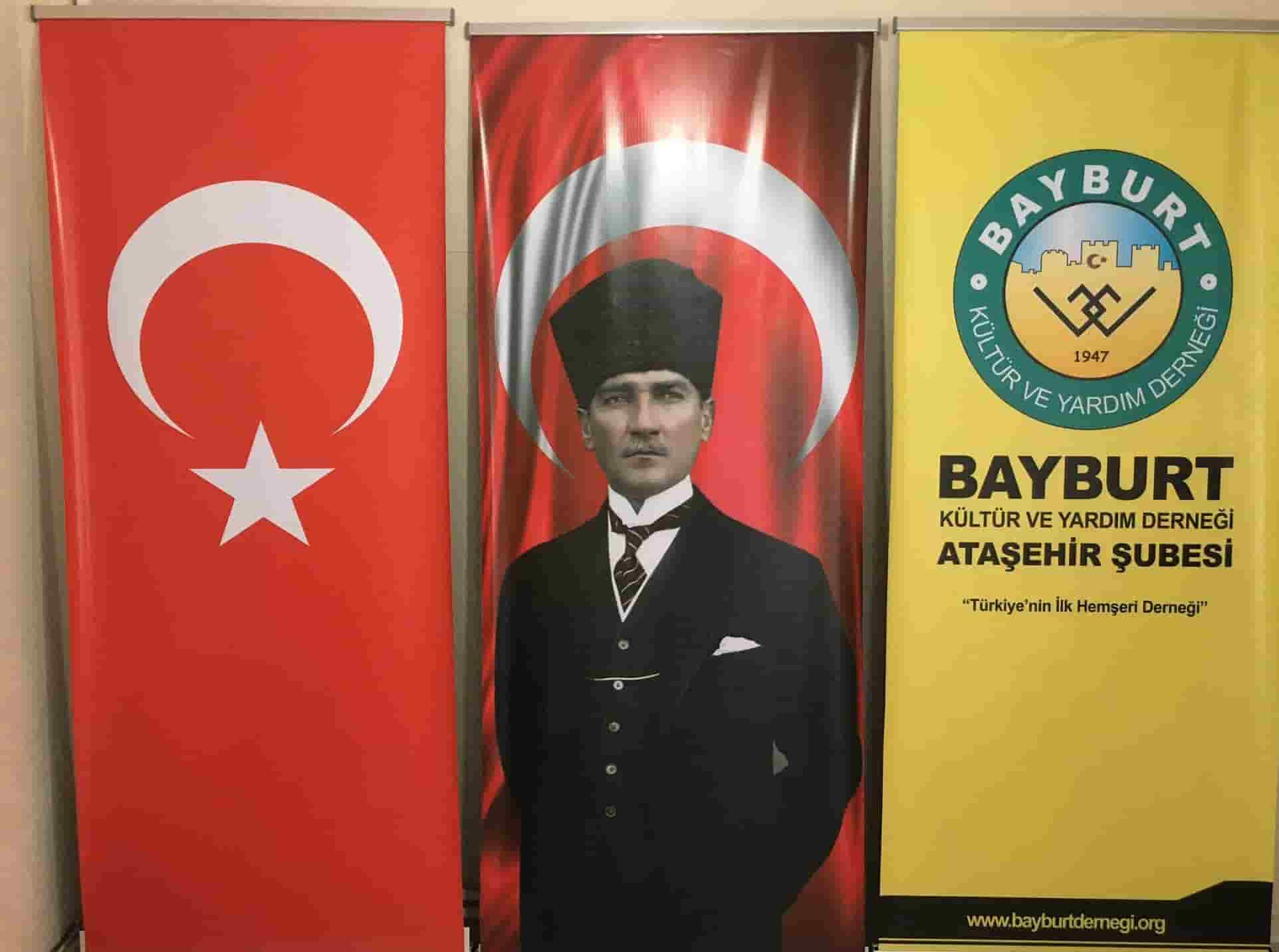 Bayburt Eğitim ve Yardım Derneği Ataşehir şubesi kuruldu