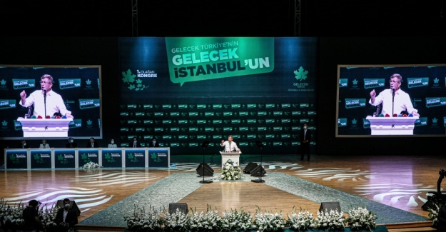 Gelecek Partisi İstanbul Teşkilatında Kongre Heyecanı Yaşandı