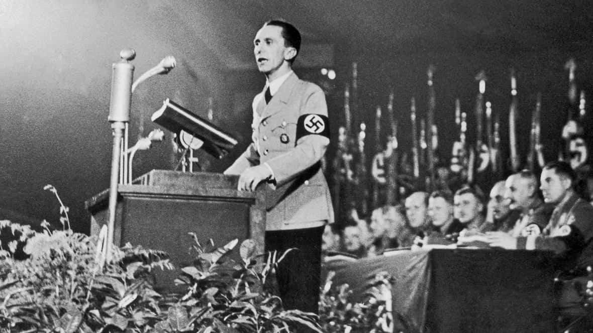 Joseph Goebbels'in siyasi tavsiyeleri geçerliliğini koruyor
