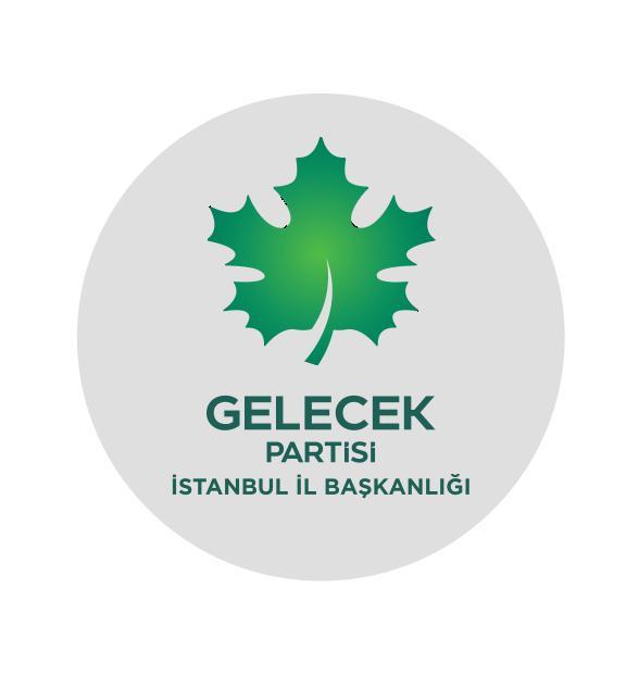 Gelecek Partisi İstanbul teşkilatı sahaya iniyor.