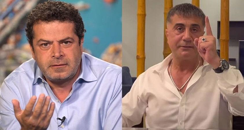 """Cüneyt Özdemir'in """"Sedat Peker"""" canlı yayını 100 bin kişi izledi"""
